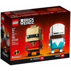LEGO BRICKHEADZ 41613 DISNEY MR. INCREDIBILE & FROZONE MAG 2018