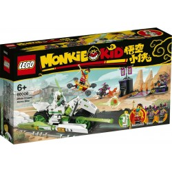 LEGO 80006 MONKIE KID CAVALLO MECCANICO WHITE DRAGON