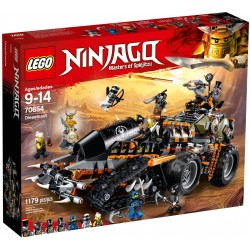 LEGO 70654 NINJAGO TURBO...