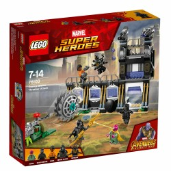 LEGO MARVEL SUPER HEROES 76103 Corvus Glaive Thresher Attack MAR - 2018