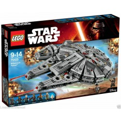 LEGO 75105 STAR WARS MILLENNIUM FALCON GUERRE STELLARI - C