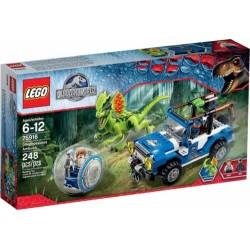 LEGO 75916 JURASSIC WORLD DILOPHOSAURUS AMBUSH NUOVO RARO - c