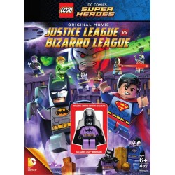 DVD LEGO JUSTICE LEAGUE VS...